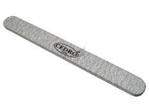 Pilník na nehty šedý zebra 100/180