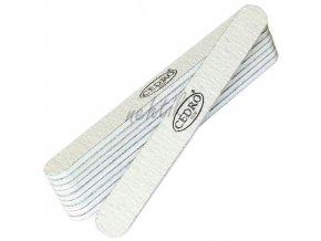 Sada - Pilník na nehty šedý zebra 100/180, 10ks