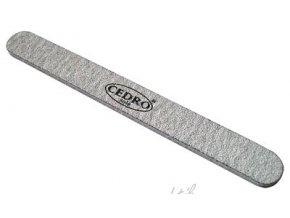 Pilník na nehty 80/80 šedý zebra Cedro