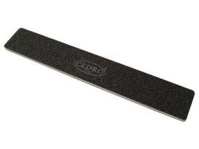 Pilník na nehty 80/80 černý jumbo Cedro