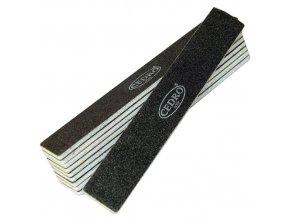 Sada - Pilník na nehty 80/80 černý jumbo Cedro - 10ks