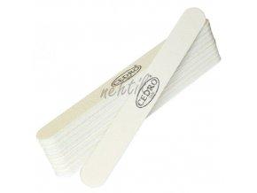 Sada - Pilník na nehty bílý 80/80 - 10 ks