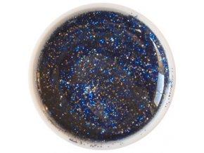 Glitter barevný UV gel g19 tmavě modrý