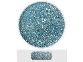 Glitterový akryl pudr 5 ml č.8 - světle modrý