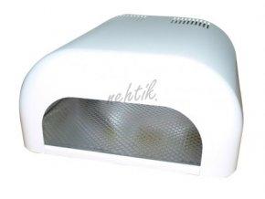 UV Lampa na gelové nehty 36W bílá oblá