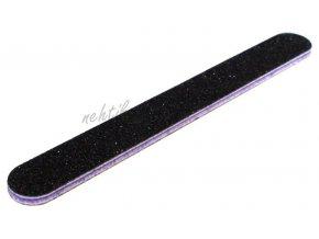 Pilník na nehty 80/80 černý rovný voděodolný Cedro