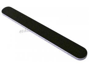 Pilník na nehty 180/180 černý rovný voděodolný Cedro