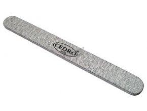 Pilník na nehty 100/100 šedý zebra Cedro