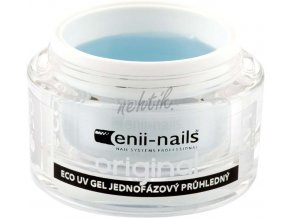 Jednofázový UV gel originál průhledný 40 ml