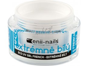 UV gel french extrémně bílý 10 ml Enii