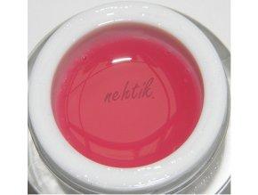 Soak off gel - podkladový transparentní růžový 5ml