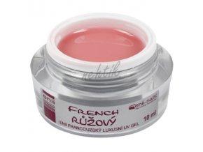 UV gel French růžový 10 ml Enii