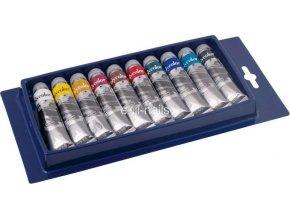 Akrylová barva Polycolor - sada 10 ks