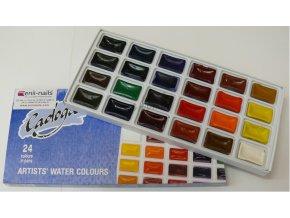 Akvarelová sada barev LADOGA 24 ks