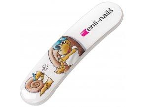 Skleněný obloukový dětský pilník Enii nails