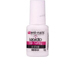 Lepidlo na nehty se štětečkem 7,5ml Enii nails