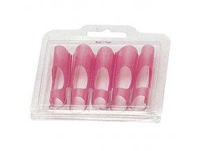 Forma na nehty opakovatelná 5ks plastová