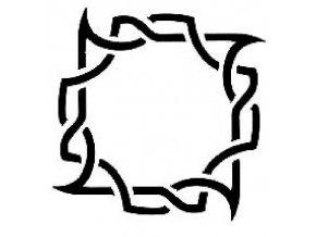 Šablona na tetování Rámeček