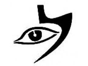 Šablona na tetování Oko