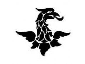 Šablona na tetování Orlice