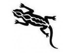 Šablona na tetování Ještěrka