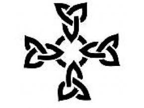Šablona na tetování Kříž
