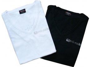 Tričko TOP ENII-NAILS - bílé, černé