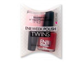 Enii-nails Sada enii week polish twins T2