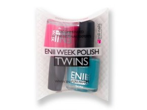 Enii-nails Sada enii week polish twins T7