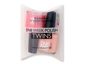 Enii-nails Sada enii week polish twins T12
