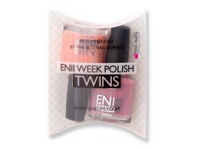 Enii-nails Sada enii week polish twins T19