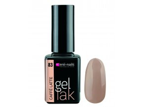 Enii nails Gel lak - 83 Caffé latte