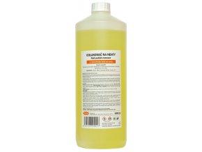 Acetonový odlakovač na nehty 1000ml - žlutý