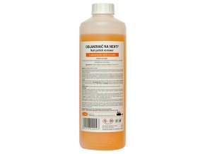 Acetonový odlakovač na nehty 500ml - oranžový