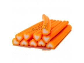 FIMO FI36 srdíčko oranžové