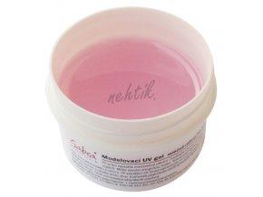 Modelovací UV gel lux růž. mléčný 25 ml GABRA