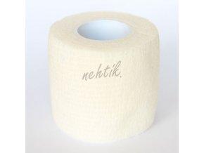 Ochranná páska na prsty - široká bílá
