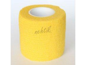 Ochranná páska na prsty - široká žlutá