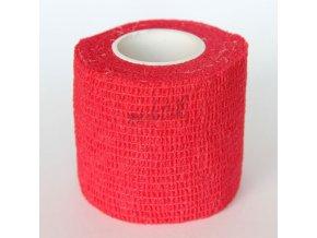Ochranná páska na prsty - široká červená