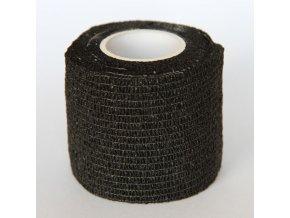 Ochranná páska na prsty - široká černá