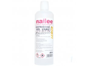 Gel lak odstraňovač 250 ml Nailee