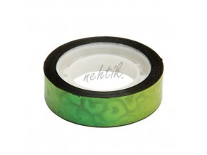 Nail Art pásek široký zelený