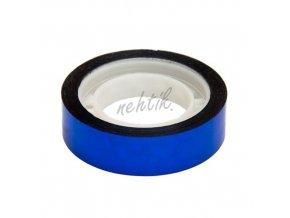 Nail Art pásek široký modrý