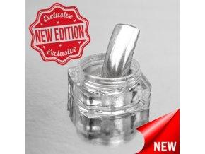 Nailee Leštící pigment Chromatic Silver Extreme