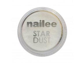 Nailee Star Dust Mirror Efect glitry bílé
