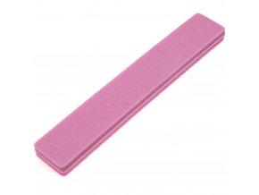 Pěnový pilník na nehty růžový