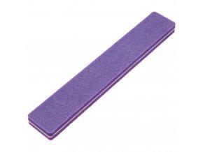Pěnový pilník na nehty fialový