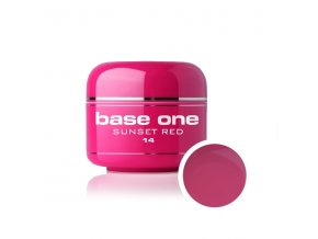 Nailee barevný UV gel 5 g č. 14 Sunset Red