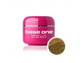 Nailee barevný UV gel 5 g č. 39 Metallic Retro Gold