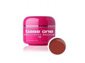 Nailee barevný UV gel 5 g č. 70 Brilliance Bronze